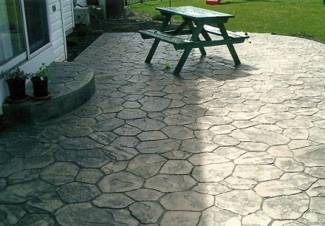 Декоративный бетон и его использование