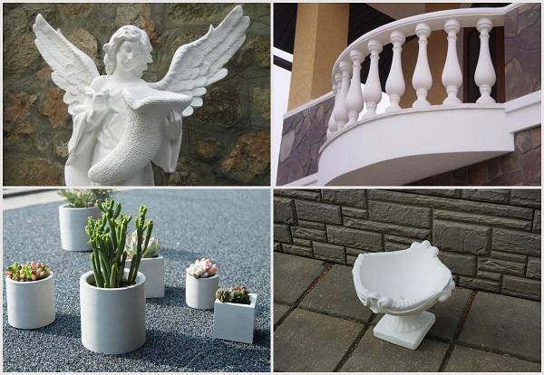 Белый цемент и его применение