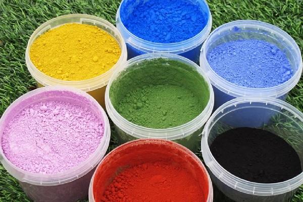 Краска колер для цементного раствора технология бетонов состав бетонной смеси