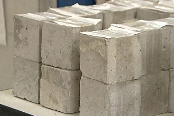 зеленоватый бетон