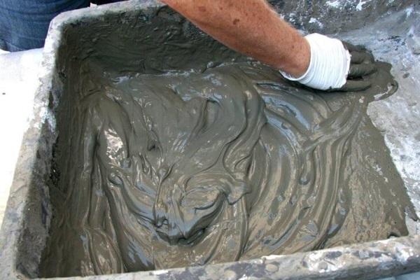 Как правильно разводить цемент?