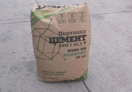 Сколько мешков цемента в кубе бетона и раствора?