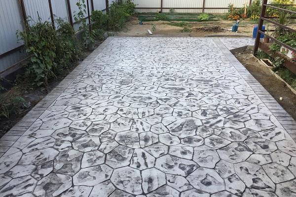 Где купить печатный бетон купить стеновые панели из бетона в москве