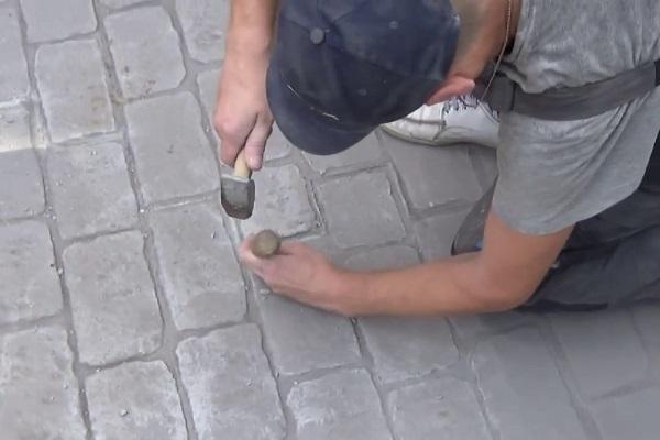 Печатный бетон - как сделать своими руками?