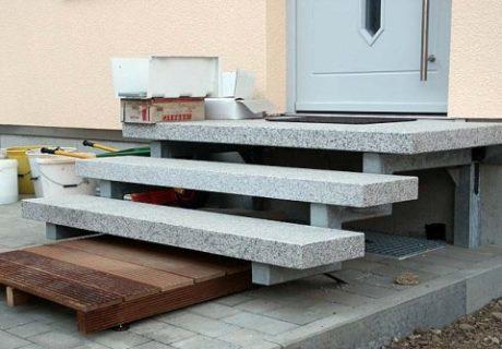 Ступени из бетона – как сделать самому?