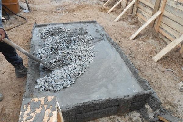 Пропорции цемента для фундамента