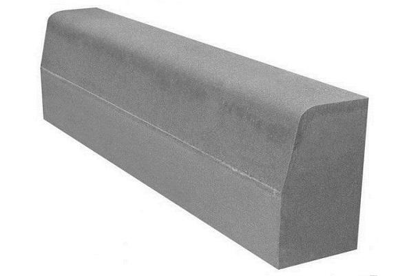Садовый бетонный бордюр: способы установки