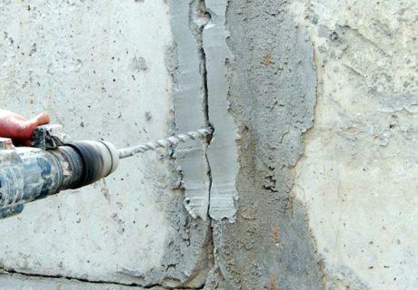 Усадочные трещины в бетоне