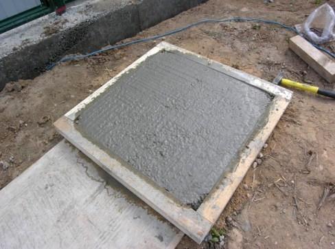 Цементный раствор для садовой плитки бетон москва дешево