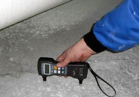 Неразрушающие испытания бетона