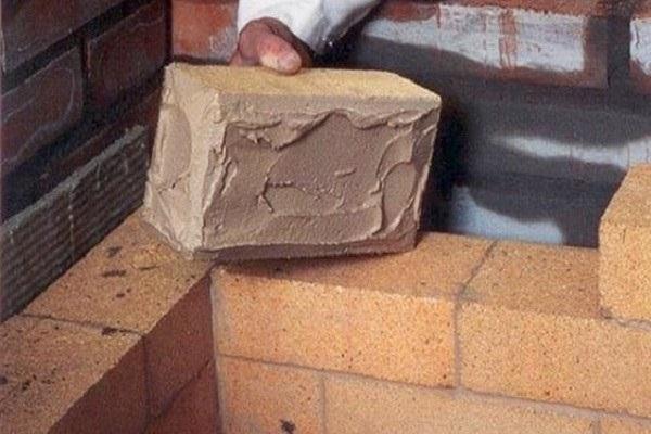 огнеупорный цементный раствор это