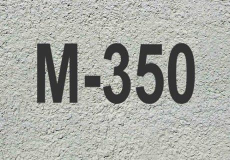 Бетон М350 – основные характеристики и состав