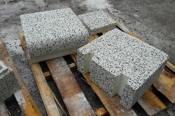 Мытый бетон и сферы его применения