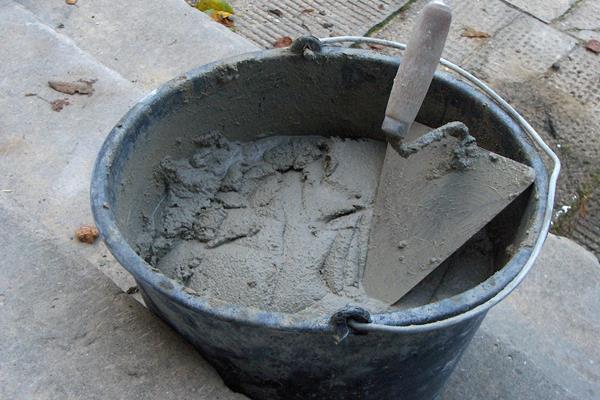 Нормы расхода цемента для строительных растворов