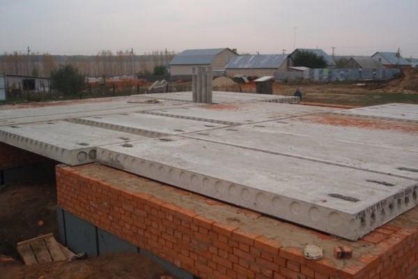 Правила укладки плит перекрытий на конструкцию