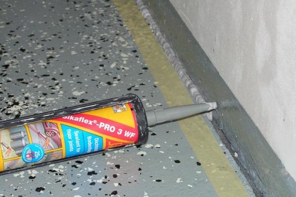 Герметики для швов и трещин бетонных конструкций