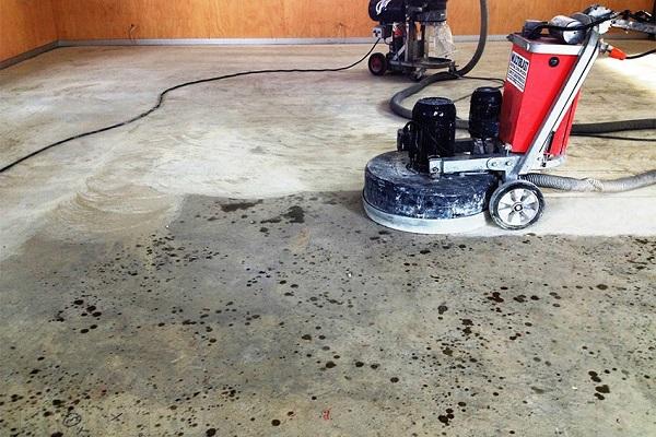 Шлифовка бетона - методы обработки
