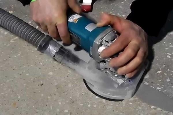 Технология шлифовка бетона сколько времени сохнет цементный раствор слой 10