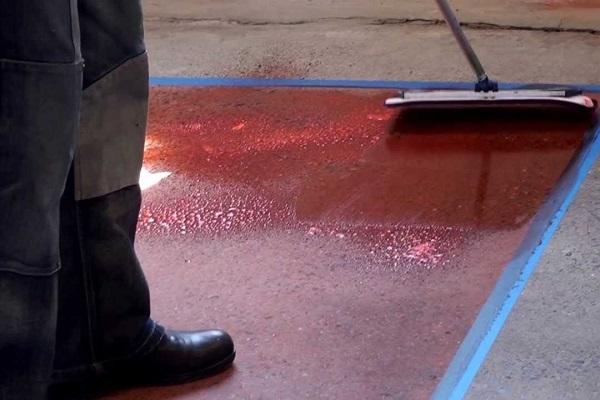 какие краски для бетона лучше