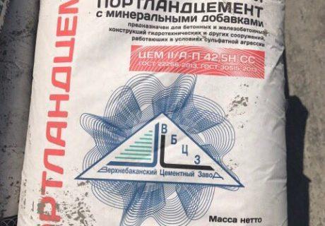 Где применяют сульфатостойкий цемент