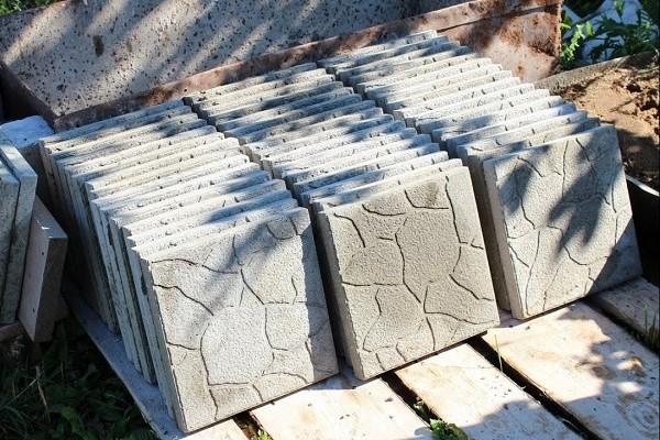 тротуарная плитка своими руками