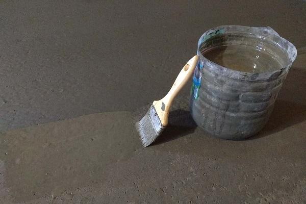 Железнение бетона - особенности технологии