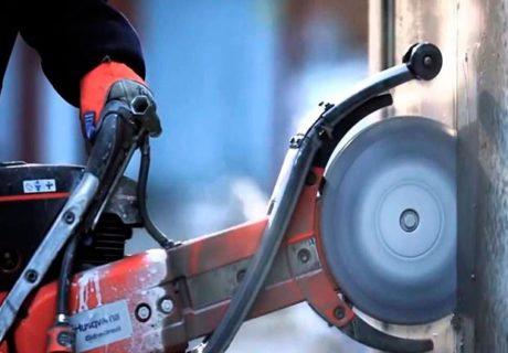 Алмазная резка железобетона – как резать бетон?