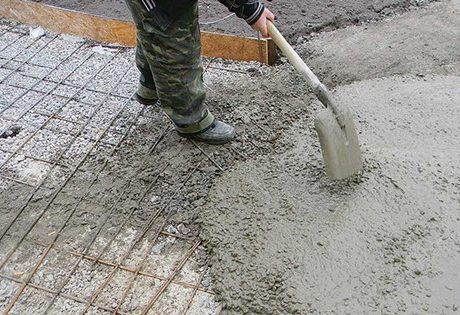 Схватывание бетона разных марок