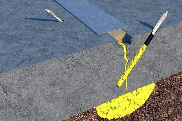 Инъектирование бетона и суть технологии