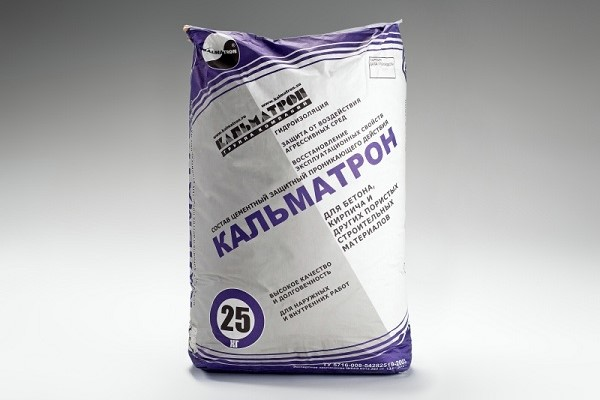Гидроизоляция для бетона Кальматрон