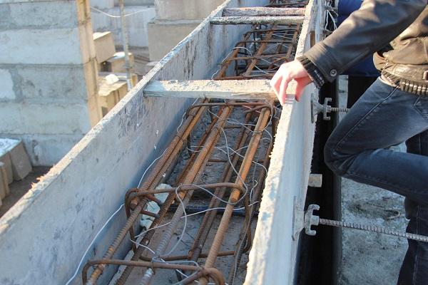 Прогрев бетона зимой: способы разогрева