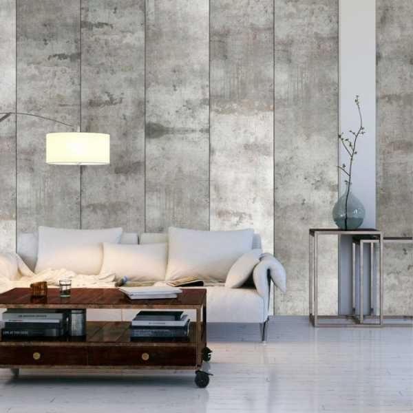 Еще одним оригинальным вариантом придания вашему дому бетонного стиля является плитка из керамики